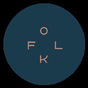 This is the restaurant logo for FOLK