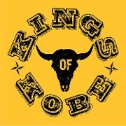 This is the restaurant logo for Kings of Kobe