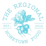 This is the restaurant logo for The Regional