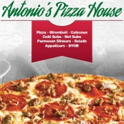 This is the restaurant logo for Antonio's Pizza House