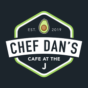 This is the restaurant logo for Chef Dan's Cafe