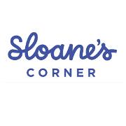 This is the restaurant logo for Sloane's Corner & Pizza Leila