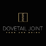 This is the restaurant logo for Dovetail Joint Restaurant