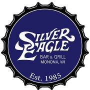This is the restaurant logo for Silver Eagle Bar & Grill