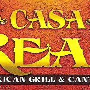 This is the restaurant logo for Casa Real Mexican Grill