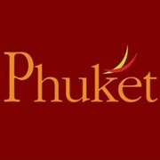 This is the restaurant logo for Phuket Thai Restaurant  and Sushi