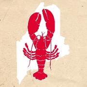 This is the restaurant logo for Maine Shack