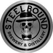 This is the restaurant logo for Steelbound Brewery