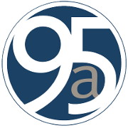 This is the restaurant logo for 95a Bistro & Co.