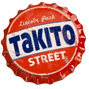 This is the restaurant logo for Takito Street