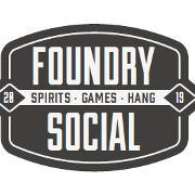 This is the restaurant logo for Foundry Social
