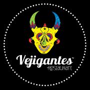 This is the restaurant logo for Vejigantes Restaurant