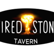 This is the restaurant logo for Fired Stone Tavern