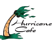 This is the restaurant logo for Hurricane Cafe