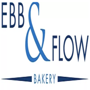 This is the restaurant logo for Ebb & Flow Bakery