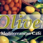 This is the restaurant logo for Olive Bistro