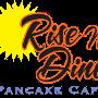 Restaurant logo for Rise N Dine Pancake Cafe