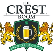 This is the restaurant logo for The Crest Room