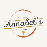 This is the restaurant logo for Annabel's Pizza Co.