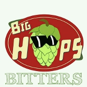 This is the restaurant logo for Big Hops