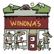 This is the restaurant logo for Winona's Restaurant and Bakery