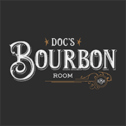 This is the restaurant logo for Doc's Bourbon Room