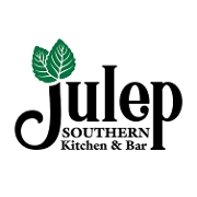 This is the restaurant logo for Julep Southern Kitchen & Bar