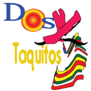 This is the restaurant logo for Dos Taquitos