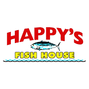 This is the restaurant logo for Happys Fish House