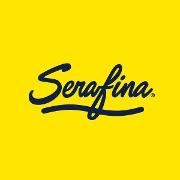 This is the restaurant logo for Serafina 61