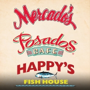 This is the restaurant logo for Posados