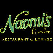 This is the restaurant logo for Naomi's Garden Restaurant & Lounge