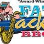 Restaurant logo for Fat Jack's BBQ