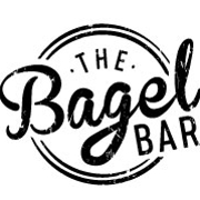 This is the restaurant logo for The Bagel Bar