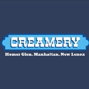 This is the restaurant logo for Creamery