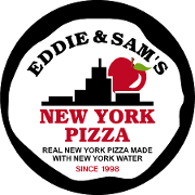 This is the restaurant logo for Eddie and Sam's N.Y Pizza