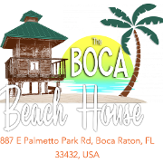 This is the restaurant logo for The Boca Beach House