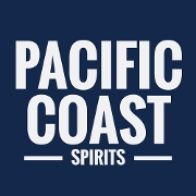 This is the restaurant logo for Pacific Coast Spirits