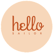 This is the restaurant logo for Hello, Sailor