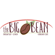 This is the restaurant logo for The Big Bean Durham