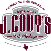This is the restaurant logo for J. Cody's Steaks & BBQ
