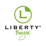 This is the restaurant logo for Liberty Burger