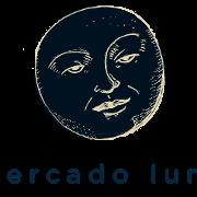 This is the restaurant logo for Mercado Luna