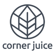 This is the restaurant logo for Corner Juice