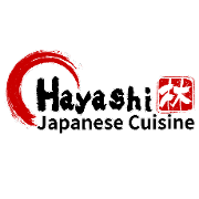 This is the restaurant logo for Hayashi Japanese Cuisine