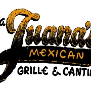This is the restaurant logo for Tia Juana's Mexican Grille & Cantina