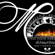 This is the restaurant logo for Marcello's Coal Fired Restaurant & Pizza
