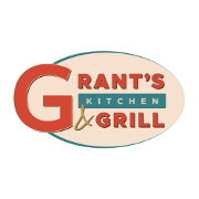 This is the restaurant logo for Grant's Kitchen and Grill
