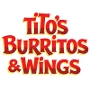 Restaurant logo for Tito's Burritos & Wings