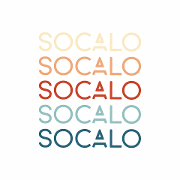 This is the restaurant logo for Socalo